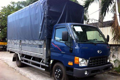 Xe tải Hyundai HD65 thùng bạt cũ