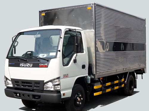 Thu mua xe tải isuzu 2t5 cũ