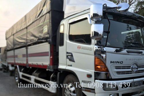 Bán Hino 8 tấn cũ đời 2013 thùng cao giá 965 triệu