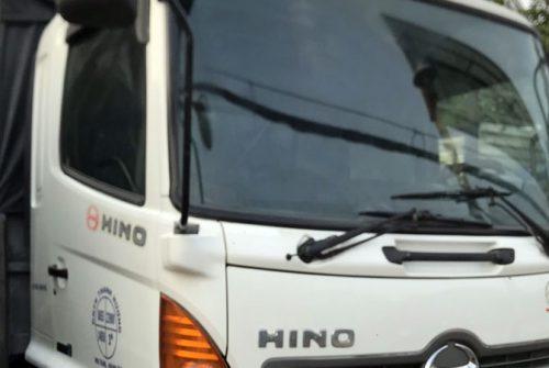Hino 3 chân 14 tấn cũ đời 2014 thùng ngắn giá 1 tỷ 210 triệu