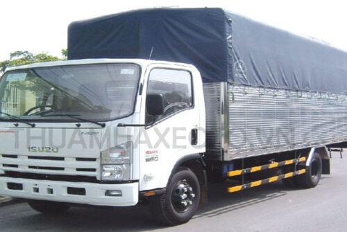 Mua bán xe tải cũ Bình Phước: xe tải Isuzu 5 tấn