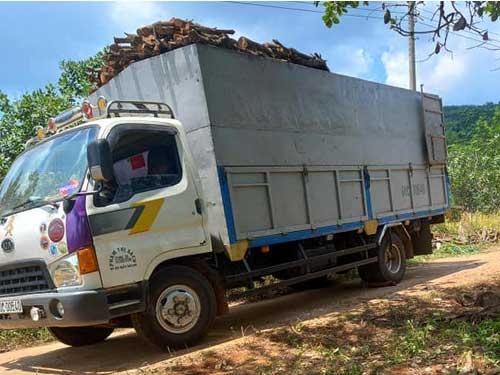 Mua xe tải cũ Gia Lai giá cao