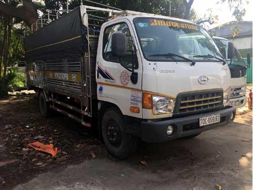 Xe tải cũ Bến Tre Hyundai